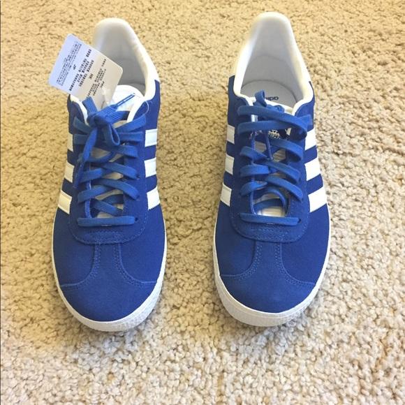 Le adidas gazzella blu reale dimensione 5 unisex poshmark
